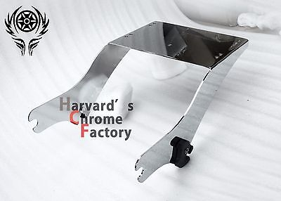 CHROME Trunk Mount for Harley Davidson Razor Chop King Tour Pak 1997-2008  (Harley Davidson Mount)