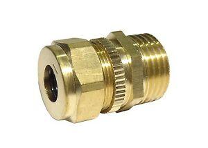 Brass Spring Safety Valve / Pressure Release / Relief Valve 1/2