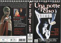 Una Notte Per Caso (1997) Vhs Ex Noleggio -  - ebay.it