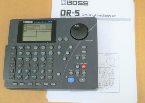BOSS DR-5 Dr. Rhythm drum machine dr5 ~ w/ Owner
