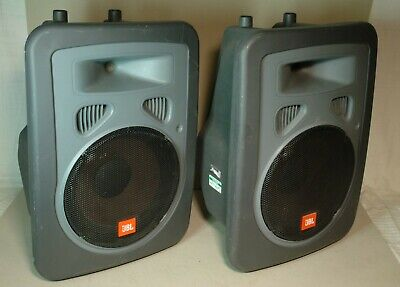Pair of JBL EON Power10 Power15 PowerSub Active Powered DJ PA Speakers