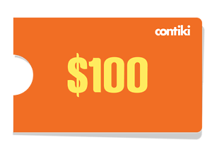 2x $100 Contiki E-Vouchers discount coupon travel tours