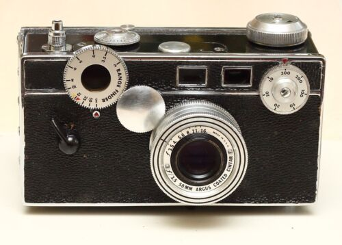 Argus C3 Rangefinder 35mm Film Camera - CLA