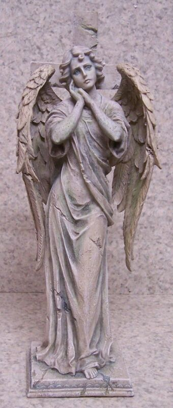 """Figurine Statue Religious Biblical Abdiel Angel NEW 11"""" with gift box"""