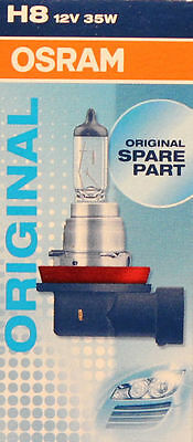 Crystal 25 Licht (OSRAM H8 35 Watt 12 Volt PKW 64212 Auto Lampe Licht PGJ19-1 Birne 35W)