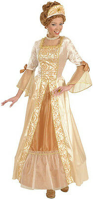 Prinzessin Renaissance Kostüm (Barock Prinzessin Renaissance Kostüm NEU - Damen Karneval Fasching Verkleidung K)