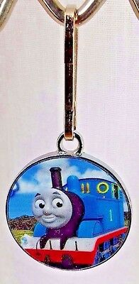 Thomas the Tank Engine Zipper Pull Toy Cartoon Thomas the Train Book Bag Charm