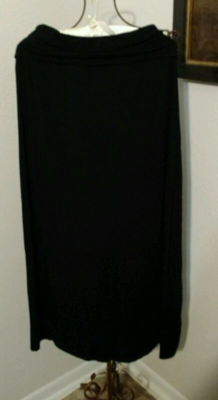 a.n.a. Womens Black Strapless Dress ~ Size M