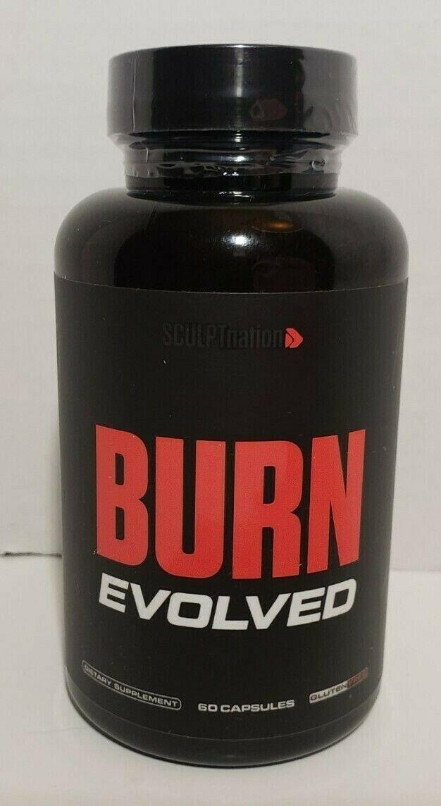 SCULPTnation Burn EVOLVED Fat Burner 60 Caps ***THE NEW FORMULA*** SCULPT nation