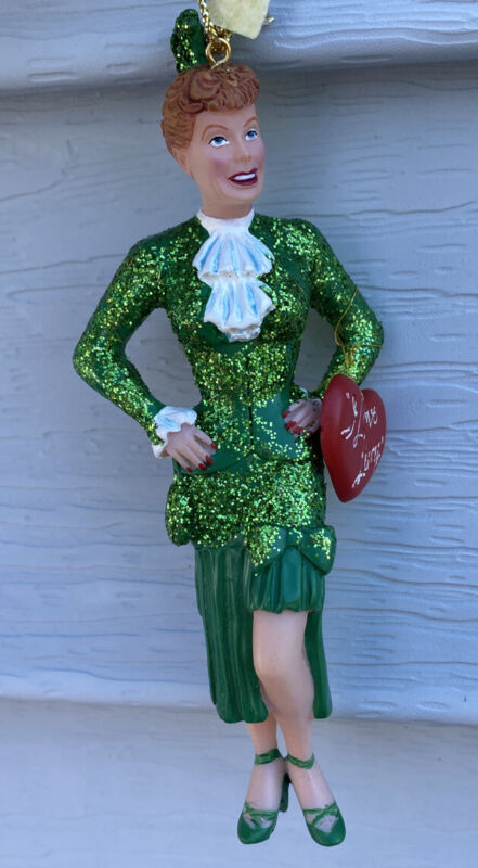 I Love Lucy Christmas Ornament