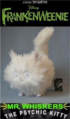 Large MR. WHISKERS Frankenweenie Cat Plush Doll Japan Medicom *Extremely RARE*