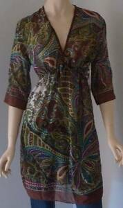 Womens Silk Cinched Tunic One Size Rowville Knox Area Preview