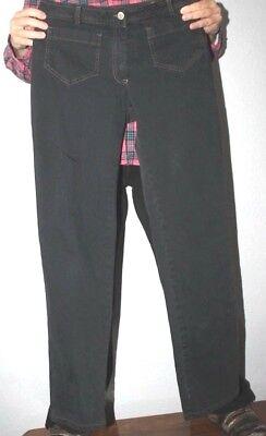 Denim Stretch Jumper (C S    Italian    stretch    denim   Jump  jeans      Large    w 97 / 8 03)