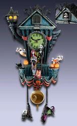 Disney The Nightmare Before Christmas Cuckoo Wall Clock Bradford Exchange