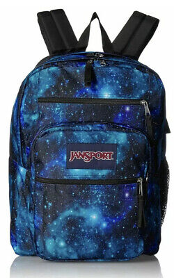 JanSport Big Student Backpack - 15-inch Laptop School Pack, Galaxy NWT