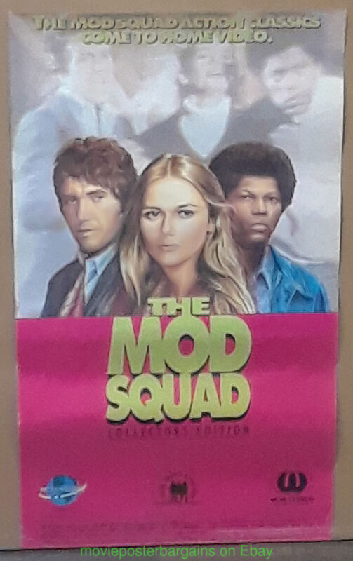 THE MOD SQUAD POSTER 14x23 60