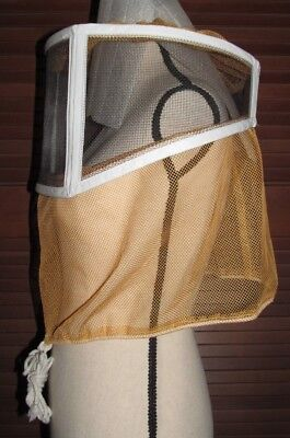 Beekeeping Hood Head Face Protection Veil Hat Mosquito Net