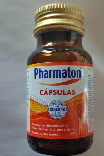 Pharmaton with ginseng G115 30 capsules/Pharmaton con ginseng G115 30 cápsulas 1
