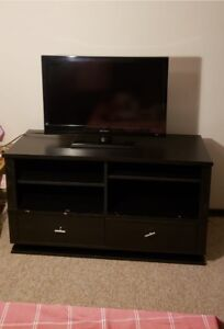 Tv and rack