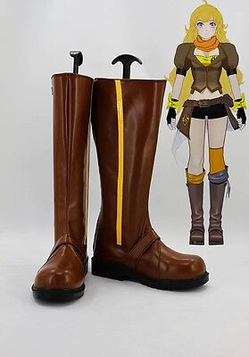 RWBY Yellow Yang Xiao Long Stiefel Schuhe shoes boots Kostüme Cosplay Costume