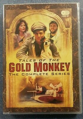TALES OF THE GOLD MONKEY SEALED DVD COMPLETE SERIES