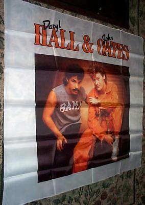 Daryl HALL & OATES Vintage HUGE Banner Tapestry