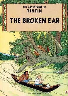 The Adventures Of Tintin: The Broken Ear 9780749701703 by Herge