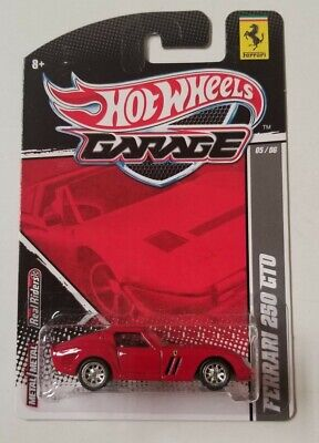 Hot Wheels Garage Ferrari 250 GTO * Red * NIP 1:64 Scale