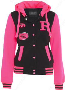 NEW GIRLS JACKET COAT HOODEI FLEECE Girls CLOTHING AGE 7 8 9 10 11 12 13 PINK