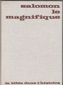 H-Gaubert-SALOMON-LE-MAGNIFIQUE-la-Bible-dans-lhistoire-1966