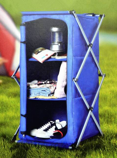 Wowmart Popup Collapsible Camping Storage Cupboard Pantry