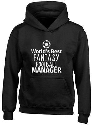 World's Best Fantasy Football Manager Boys Girls Kids Childrens