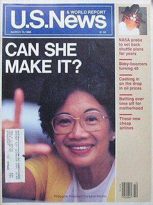 Us News   World Report Magazine March 10 1986