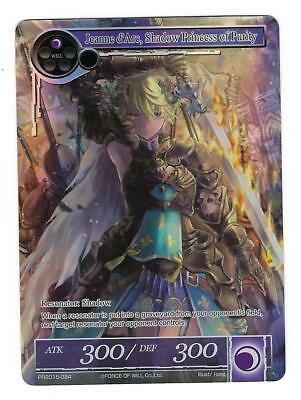 Force of Will 1x Jeanne d'Arc, Shadow Princess of Purity NM PR 2015-034 (Jeanne D Arc Shadow Princess Of Purity)
