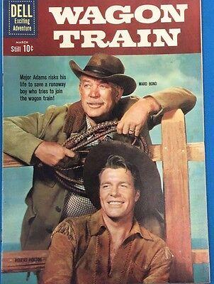 WAGON TRAIN #8 (1961) Dell Comics VERY FINE