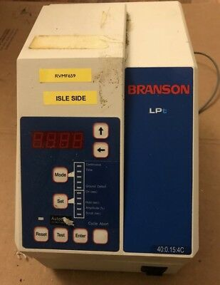 Branson Lpe 400.504t Low Power Ultrasonic Welder 149-132-952 500w Fast Ship