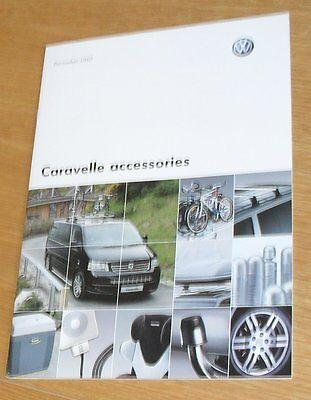 Volkswagen VW Caravelle Accessories Brochure 2007-2008