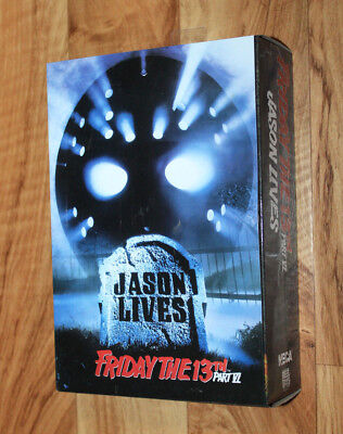 Neca Reel toys Action Figure Friday the 13th Jason lives Part VI Deluxe Box