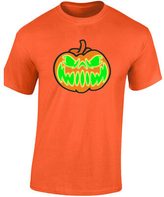 Grinning Jack Halloween Glow In The Dark Mens T-Shirt 10 Colours (S-3XL) by swag