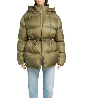 $850 ACNE STUDIOS PUFFER JACKET COAT SIZE 36 /  6 US