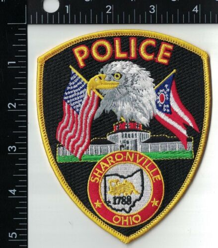 Sharonville Police Patch Ohio OH