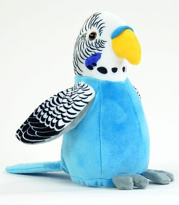Laber Sprechender Wellensittich Blau Vogel Chatter parrot plappert nach Neu