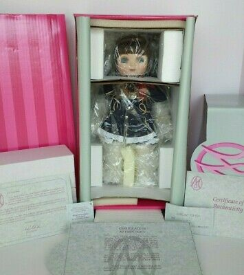 COA #678 MARIE OSMOND ADORA MONTANA BELLE COWGIRL PORCELAIN DOLL NEW AND NRFB