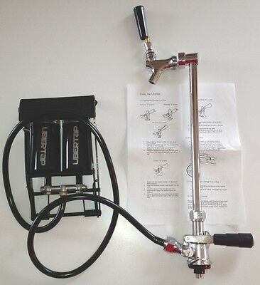 Beer Keg Pump Faucet Tap Handle Dispensing Kegerator Keg D Coupler Barrel