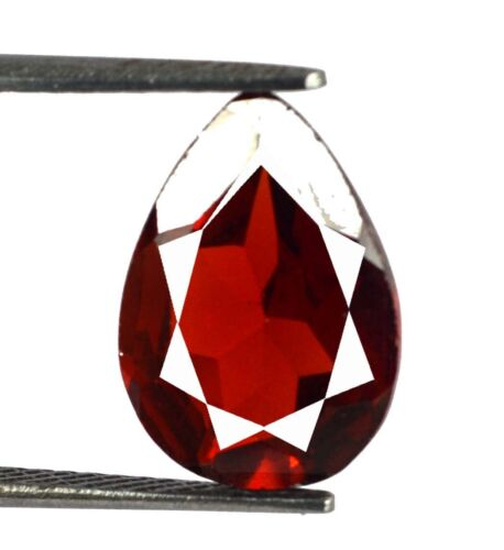 6.40 Ct Spain Orange Sphalerite Ring Size Gems 100% Natural Pear Certified L9414