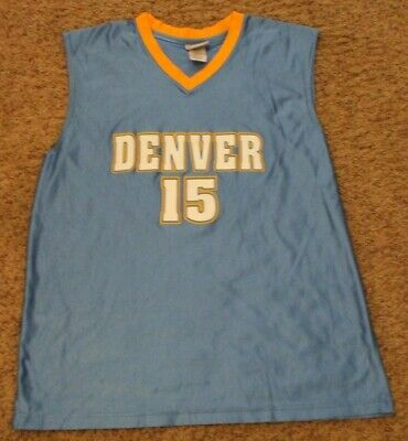 ae8bcfc40 Denver Nuggets Carmelo Anthony #15 Basketball Jersey NBA Elevation Size  X-Large