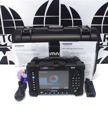 Olympus Omniscan Mx 16128 Ultrasonic Phased Array Flaw Detector Panametric Tofd