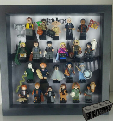 Display Frame Case for LEGO Harry Potter (22 FIG and ALL Accessories) Minifigure
