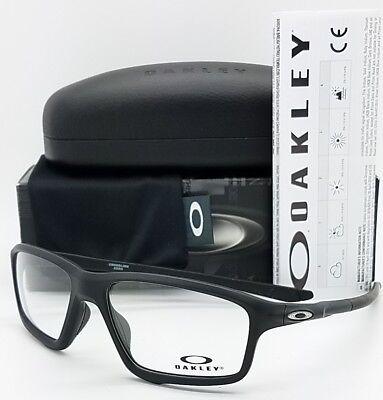 NEW Oakley Crosslink Zero RX Prescription Frame Black OX8076-0756 Link 8076 56mm