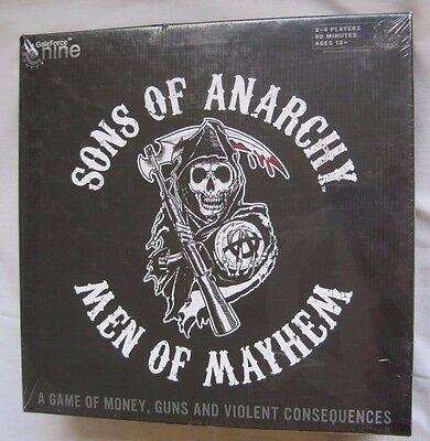 Nuevo Sons Of Anarchy Hombres De Mayhem Juego de Mesa Dinero Armas...